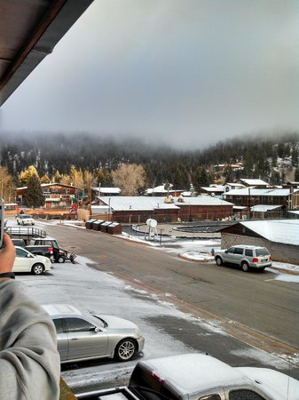 BEST WESTERN Rivers Edge: view from outside our hotel room #211 (facing away from ski area)