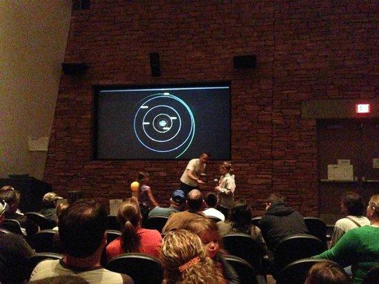 McDonald Observatory : Indoor planets show