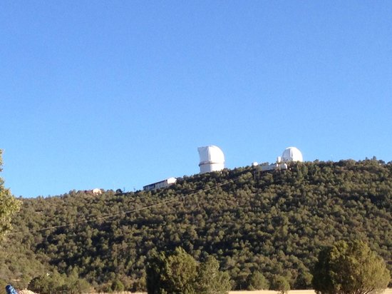 McDonald Observatory : Scenic road