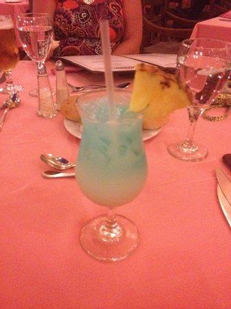 Majestic Elegance Punta Cana: Ask and you shall recieve...Blue Hawaiian!