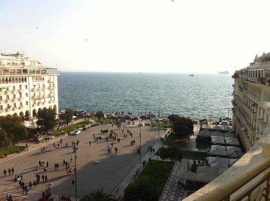 Electra Palace Thessaloniki: Вид из номера