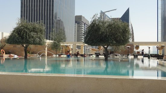 Aloft Abu Dhabi: View from Poolside