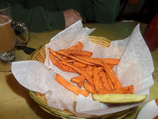 Eagle Harbor Inn - Sweet Potato Fries