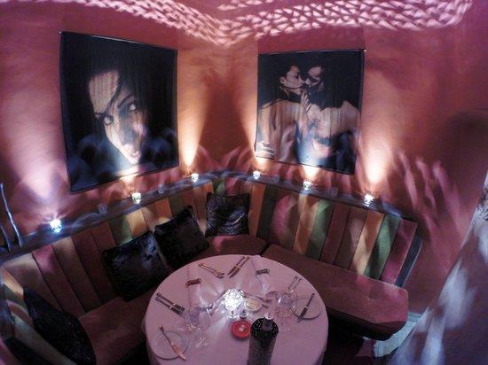 Maison MK: The private area in the restaurant