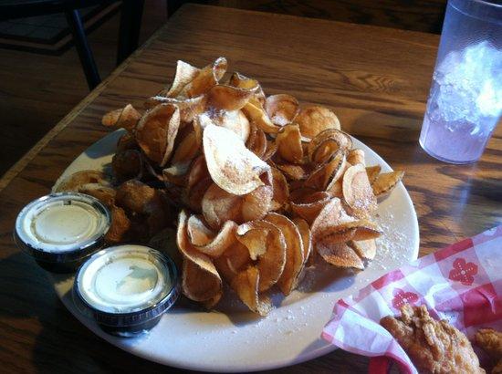 The Boathouse: Ribbon Fries