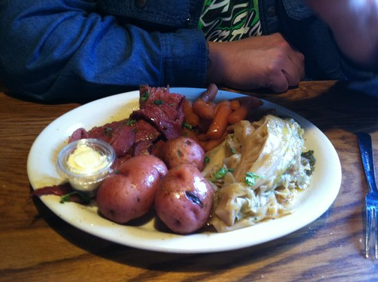 The Boathouse: Corn Beef and Cabbage