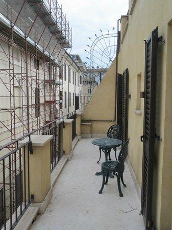 Hotel Mancino 12: Suite terrace