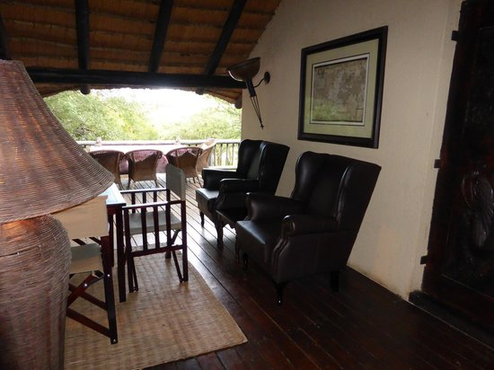 Mvuradona Safari Lodge : A relaxing spot on the first floor
