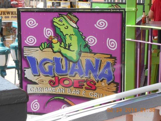 Iguana Joe's Caribbean Bar & Grill: Iguana Joe's