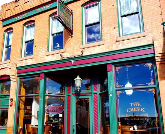 The Creek Restaurant Bar 317 E Bennett Ave Cripple Co