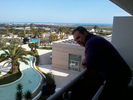 Regiohotel Manfredi: Vista dalla camera