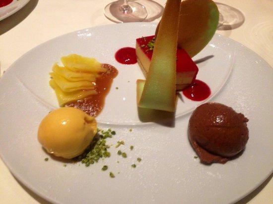 Hotel Eden: Dessert - 4 Gang Menü