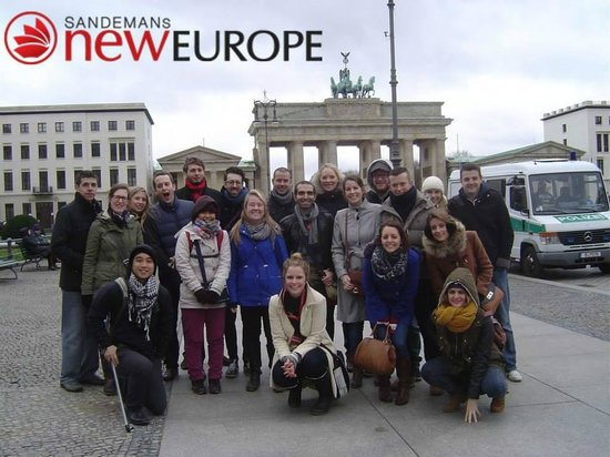 SANDEMANs NEW Europe Berlin: Our tour group