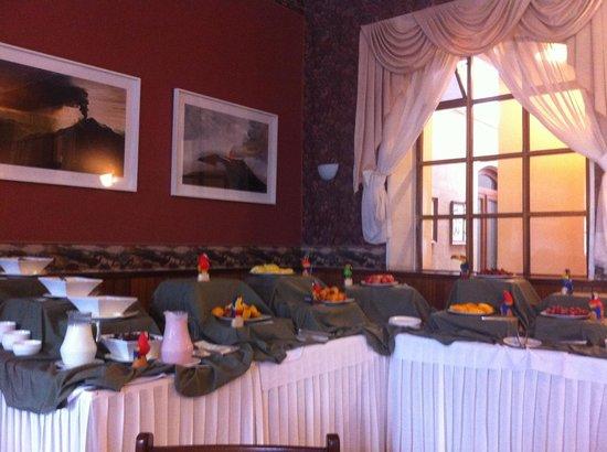 Sangay Spa Hotel: Breakfast area