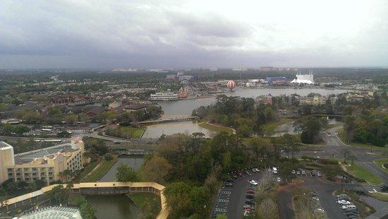 Hilton Orlando Buena Vista Palace Disney Springs : view from room