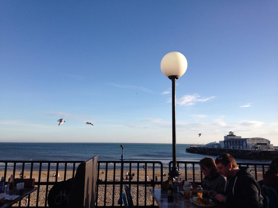 Harry Ramsden's: Can't beat that view whilst munching great fish and chips !
