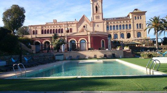 Sant Pere del Bosc Hotel & Spa : vista desde la piscina