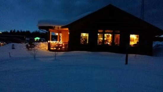 Boondocks Restaurant : Ski  in and Ski out ( drive in and out too)