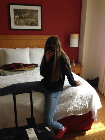 Residence Inn Washington, DC/Capitol: Nice Comfortable Bed