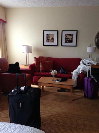 Residence Inn Washington, DC/Capitol : Sofa Bed