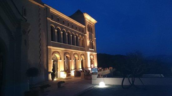 Sant Pere del Bosc Hotel & Spa : al atardecer