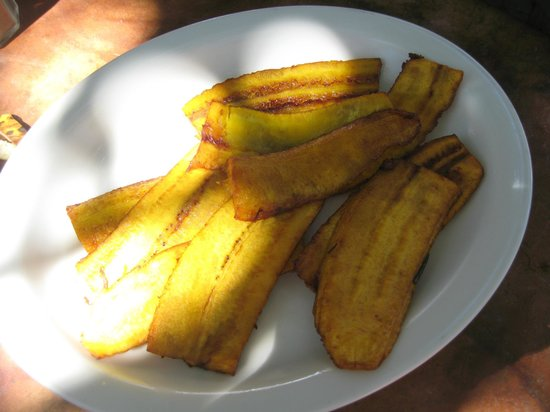 Tree House Restaurante & Cafe: plantain