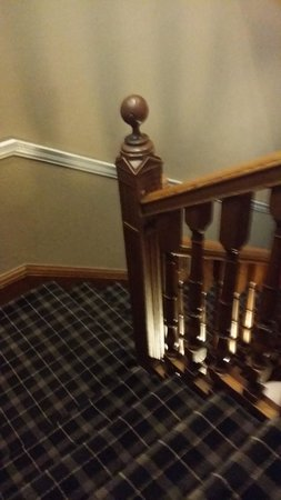 Savoy Park Hotel: staircase