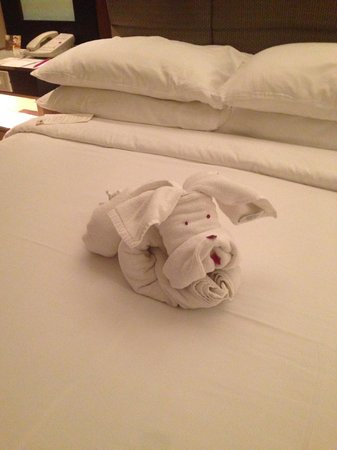 Vivanta by Taj - President, Mumbai: Greeted by this little guy at check in