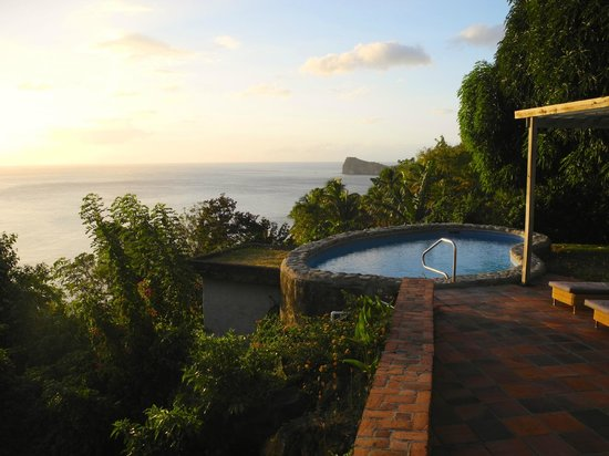Stonefield Estate Resort: Pool view at Flamboyant