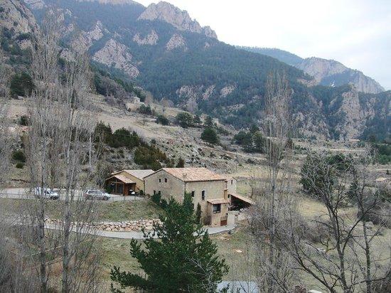 Cal Joan del Batlle: La ubicación del hotel