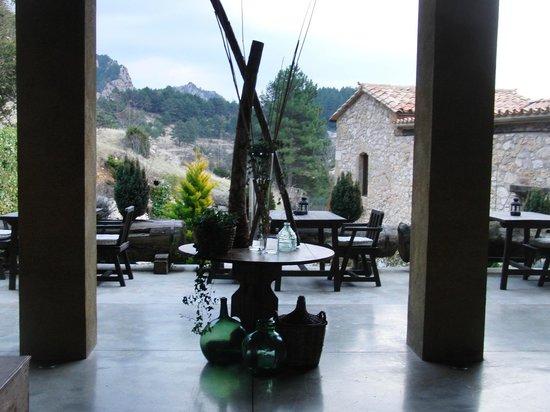 Cal Joan del Batlle: Patio cubierto
