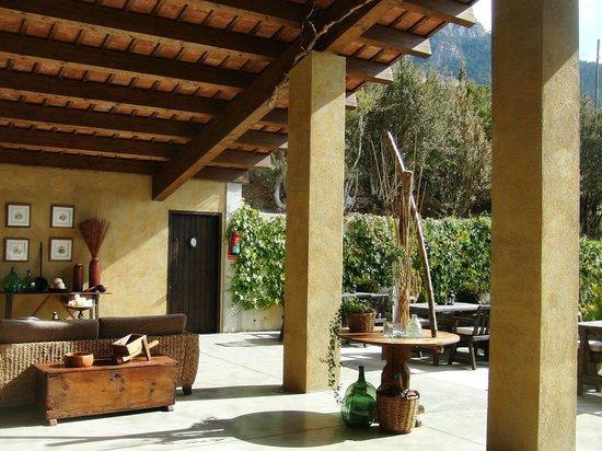 Cal Joan del Batlle : El patio cubierto
