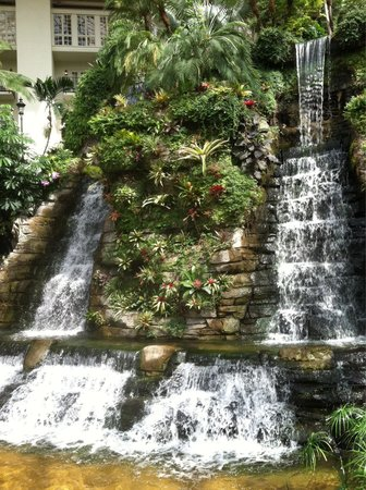 Gaylord Opryland Resort & Convention Center : One of the many water falls