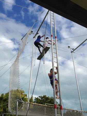 Club Med Turkoise, Turks & Caicos : trapeze