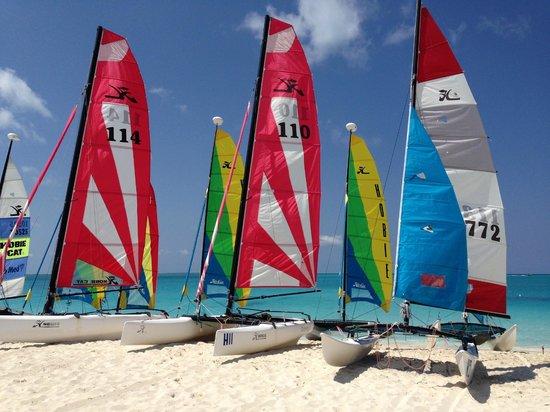 Club Med Turkoise, Turks & Caicos: Hobie Cats