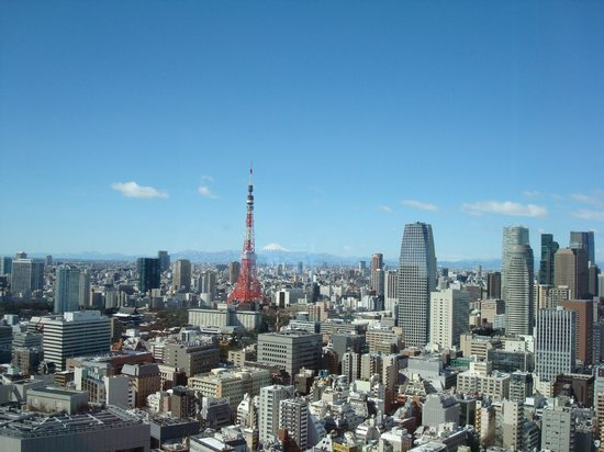 Park Hotel Tokyo: view from my room2