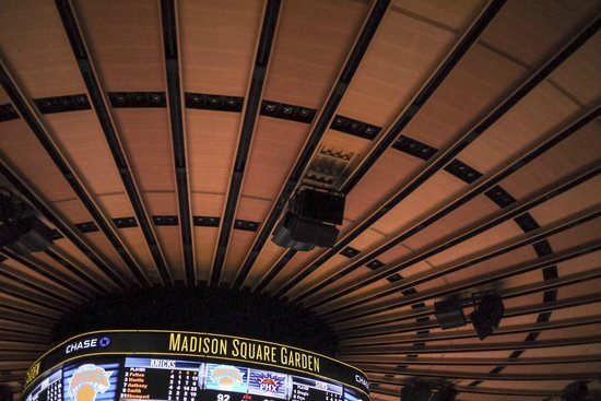 Image Gallery Madison Square Garden Ceiling