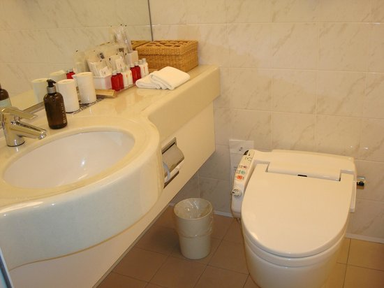 Park Hotel Tokyo: lots bathroom amenities
