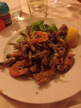 Trattoria Baioni 45: La frittura.....