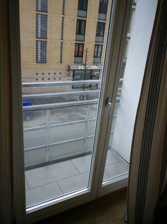 Gruner Apartment Hotel Oslo: Gruner apartment Hotel Balcony