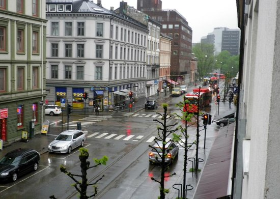 Gruner Apartment Hotel Oslo: Gruner apartment Hotel View from room balcony