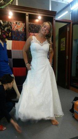 Sesan Tailor: They made my dream wedding dress!!