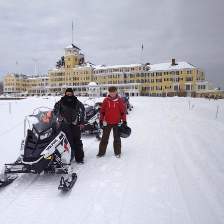 Mountain View Grand Resort & Spa: snowmobile adventure -- amazing!