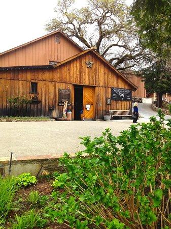 Kenwood Vineyards: Kenwood's old barn