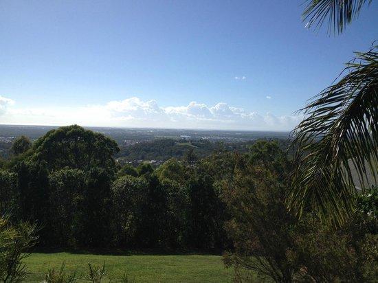 Ruffles Lodge & Spa: View from Garden Villa