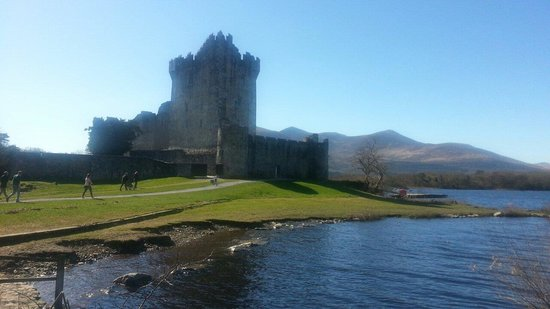 Beautiful Killarney - Ross Castle (March 2014)