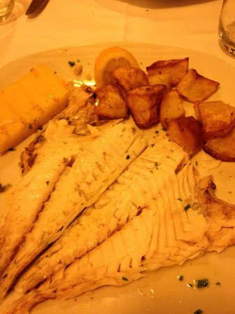 Al Vagon : Sea bream with sautéed potatoes