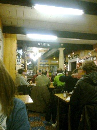 L'Envers du Decor: Interior del restaurante.