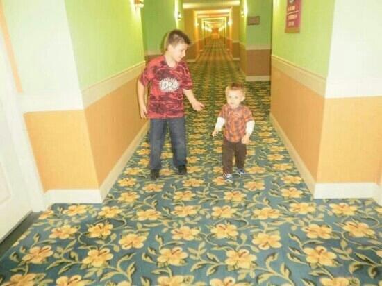 KeyLime Cove Indoor Waterpark Resort: key lime halls