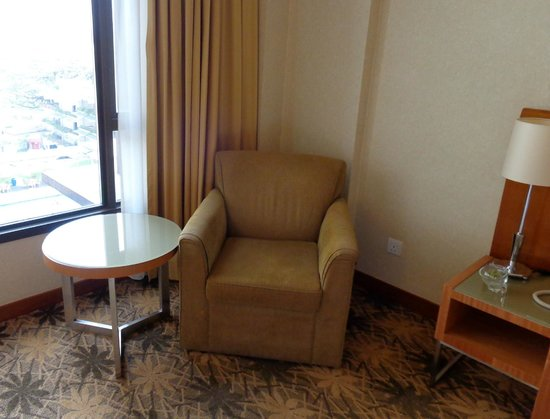 Concorde Hotel Kuala Lumpur : Occasional table and an easy chair